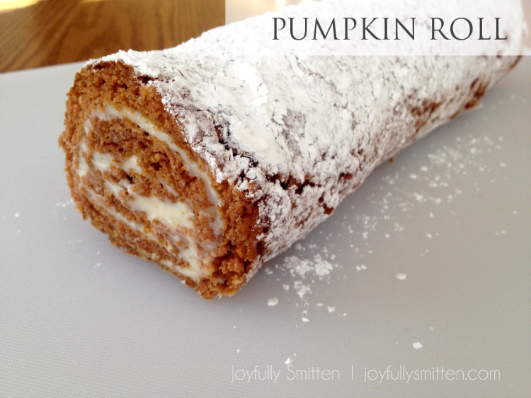 The Pumpkin Roll!