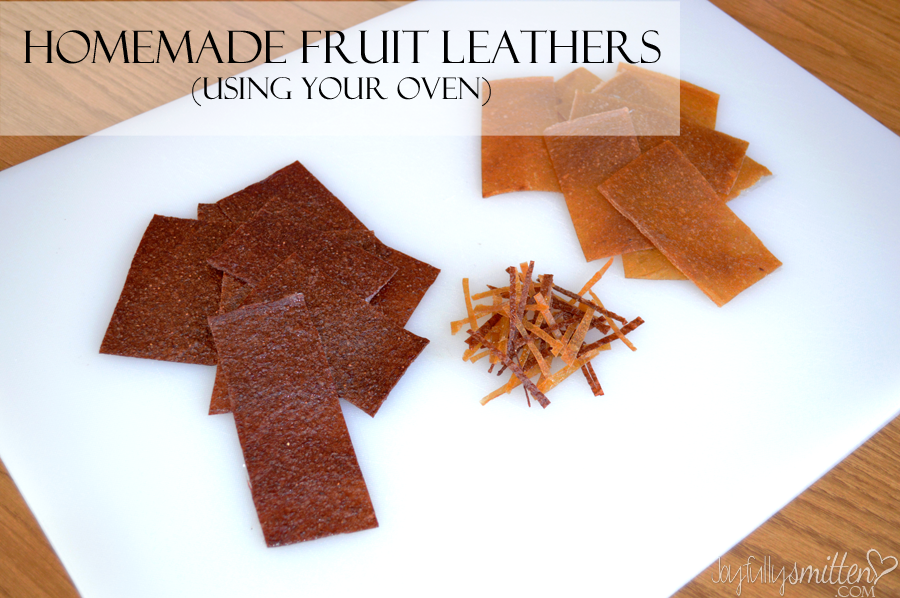 Homemade Fruit Leathers