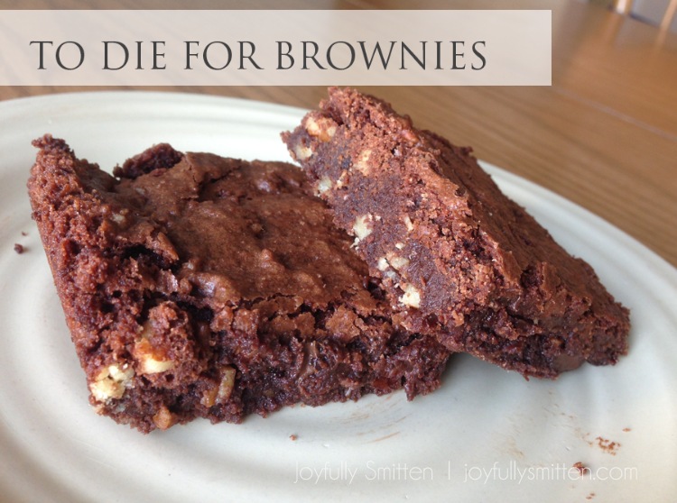 To Die For Brownies