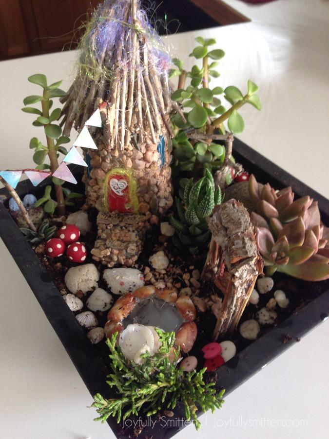 Our Fairy Garden Project