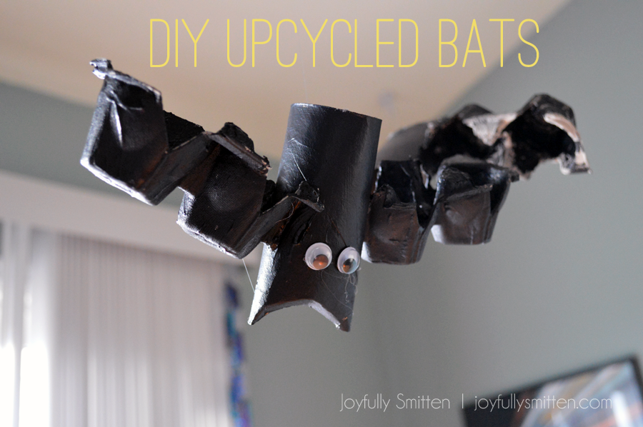 Upcycled Flying Bats