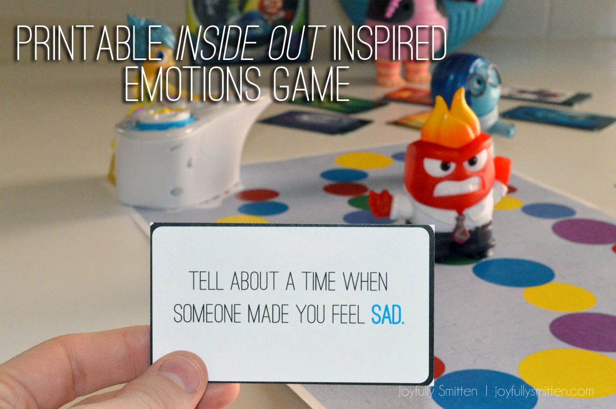 Inside Out + A Fun Emotions Game