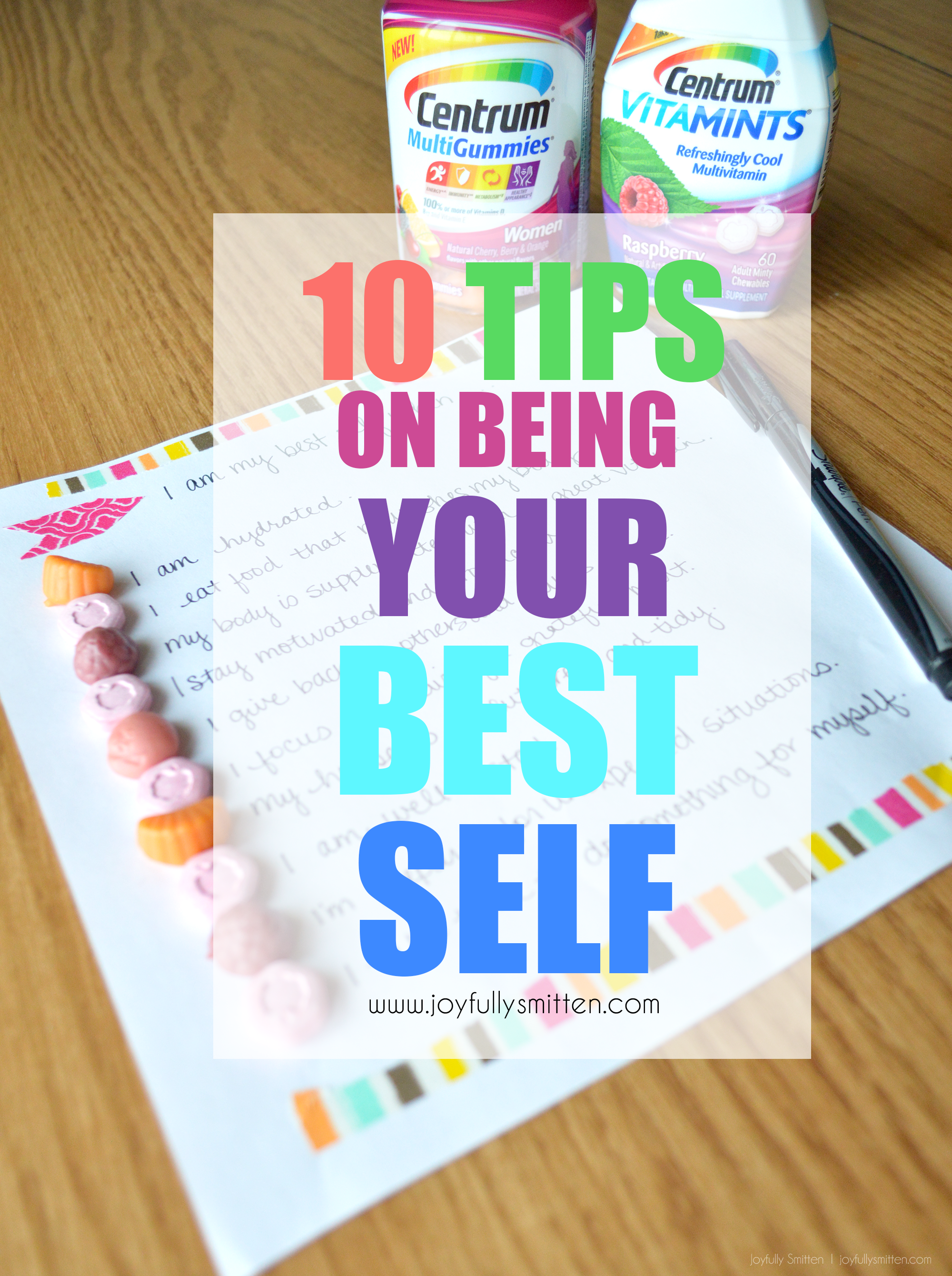 10 Tips on Being Your Best Self