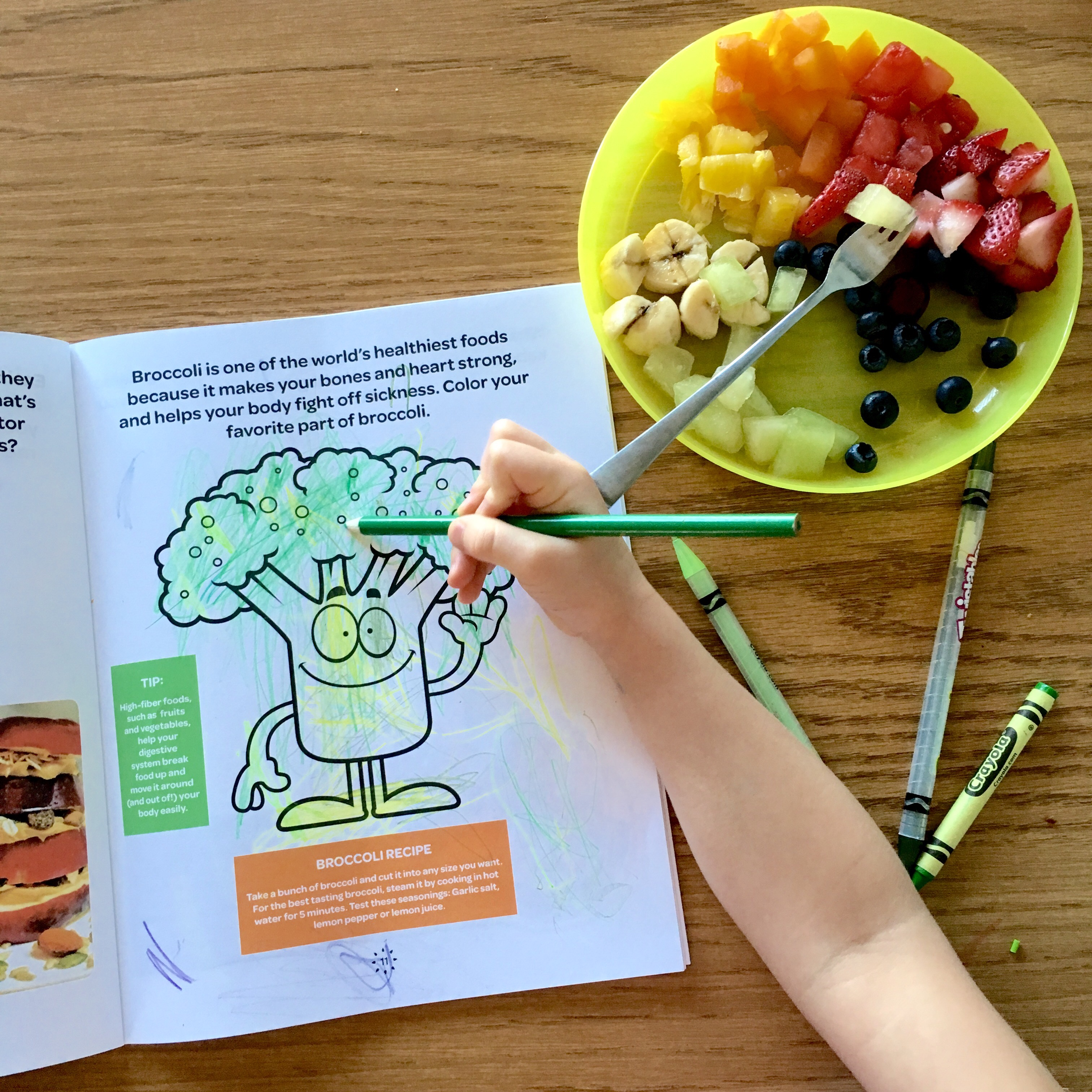 Eatable Activities for Healthy Eating -If It Does Not Grow Say No