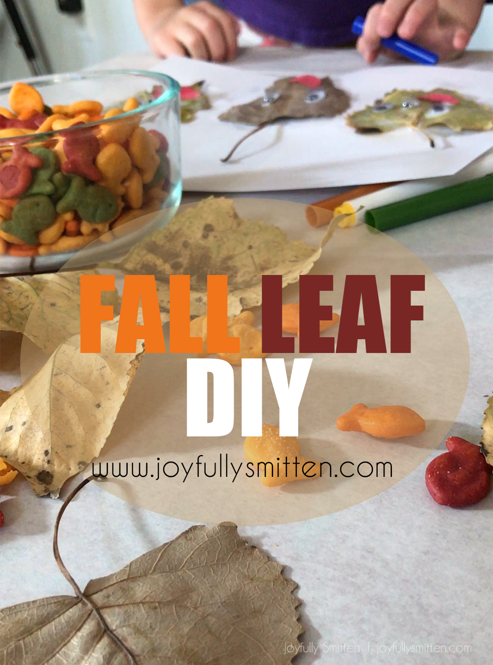 Fall Leaf DIY with Goldfish