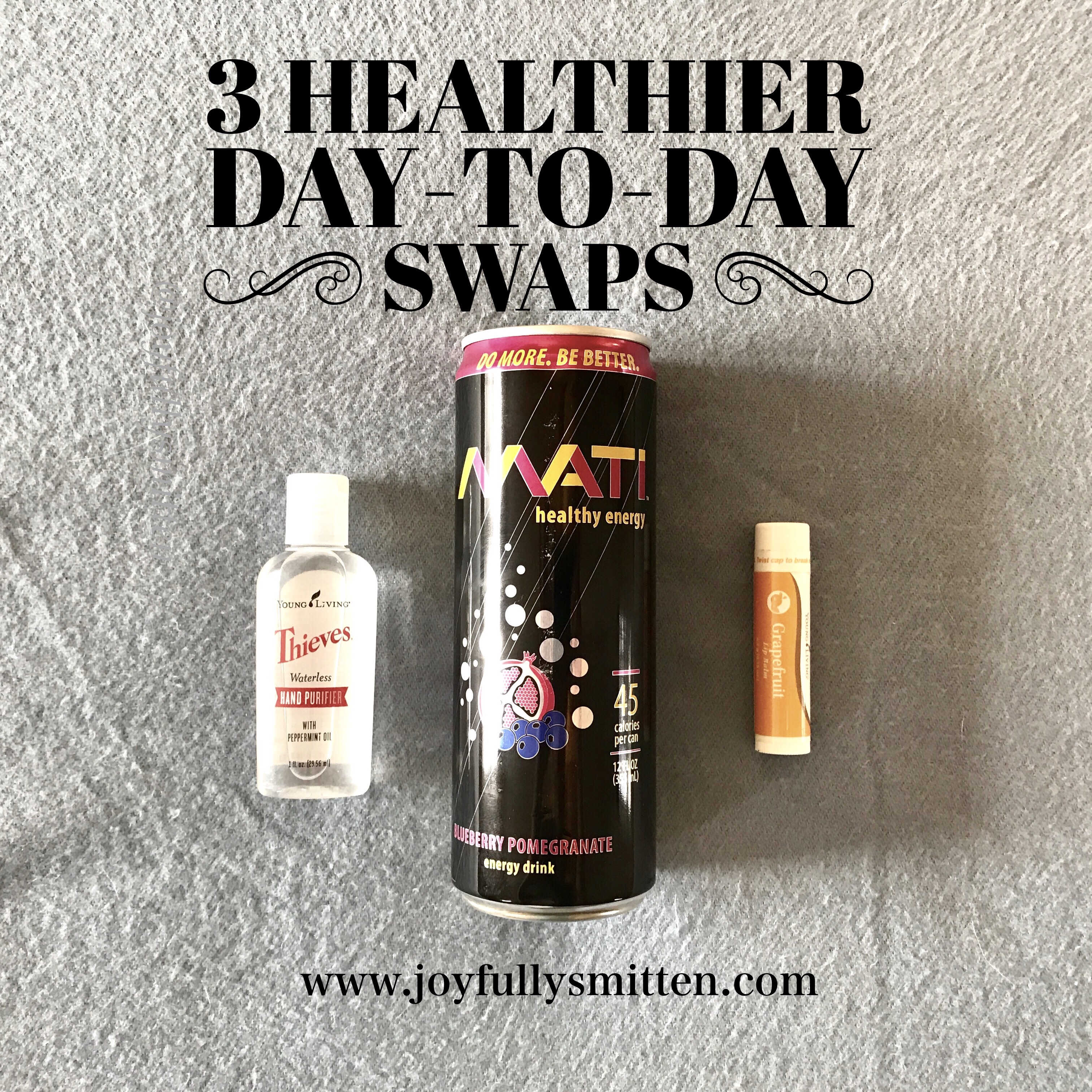 Three Healthier Day To Day Swaps