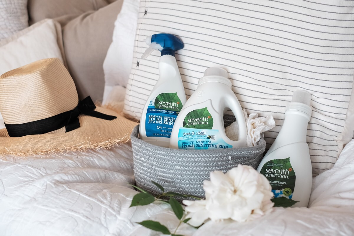 Free Toxin-Free Laundry Set from Seventh Generation