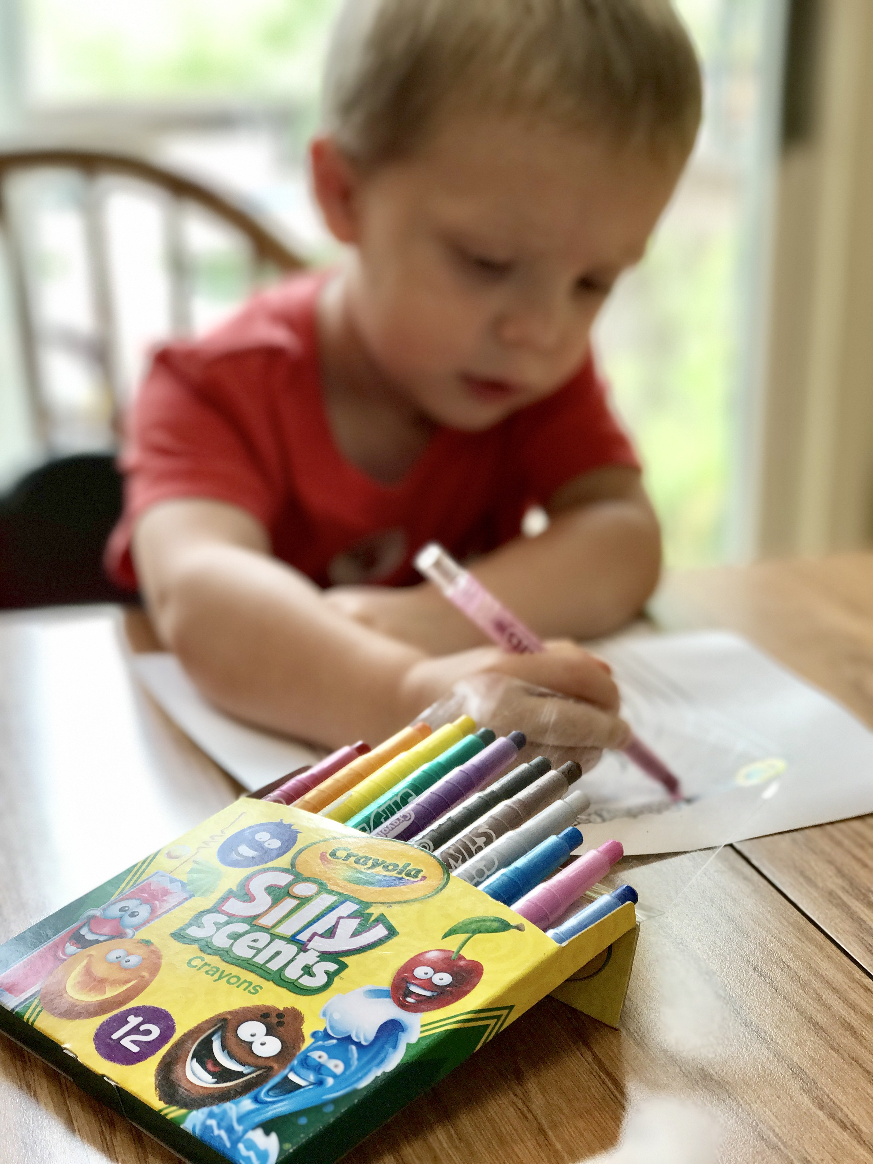 Back to School Fun with Crayola Silly Scents!