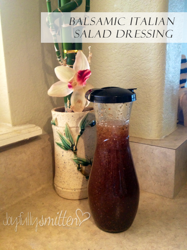 Balsamic Italian Salad Dressing