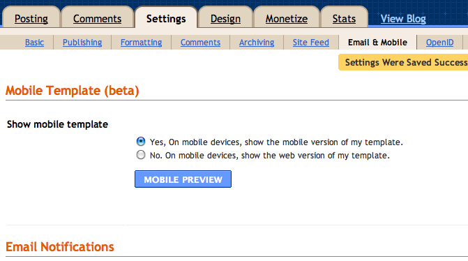 A Tutorial: Making Your Blog Mobile.