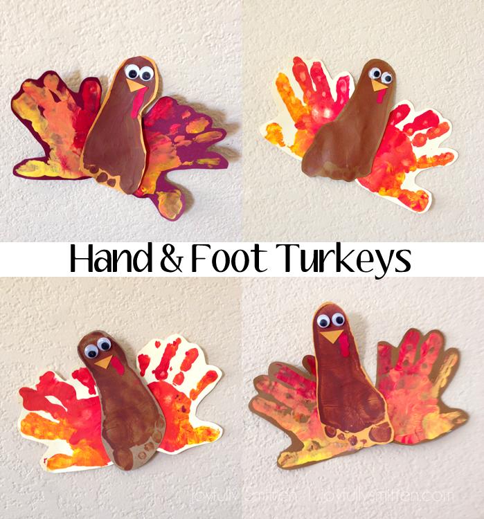 Hand & Foot Turkeys