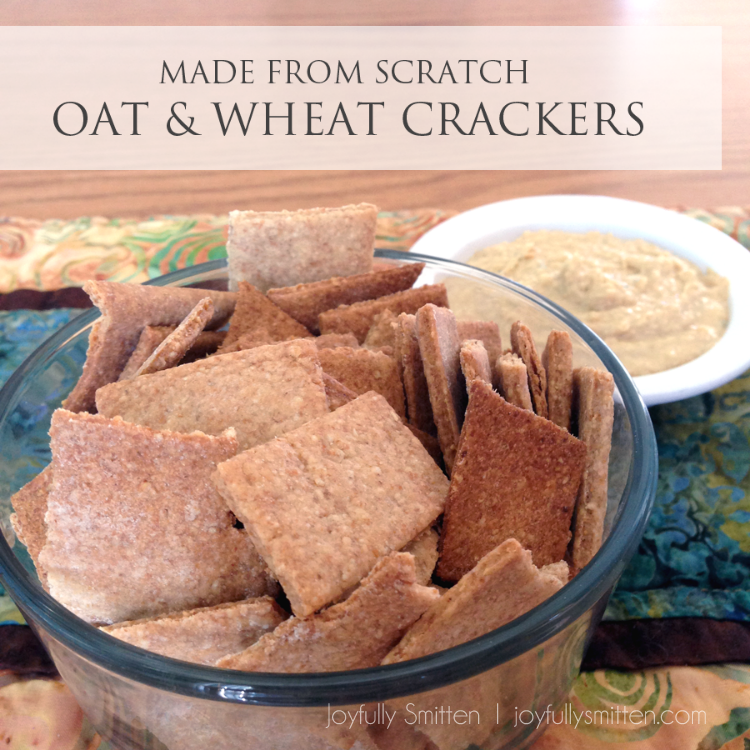 Made from Scratch Oat & Wheat Crackers