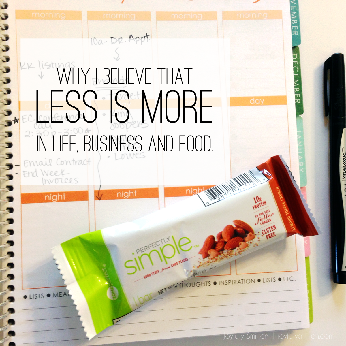 Why I Believe That Less is More In Life, Business and Food